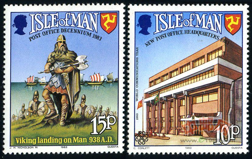 马恩岛邮政主权回归10周年