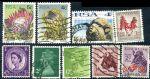 HS028 英国和南非信销邮票合售 9枚