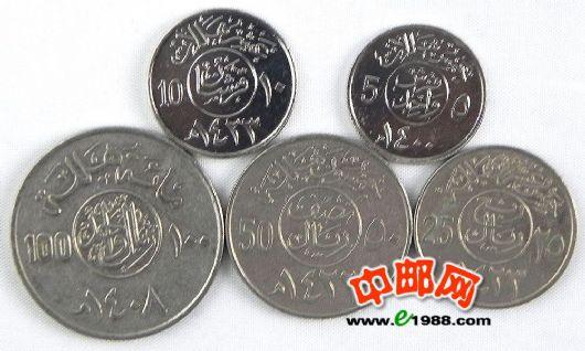 沙特阿拉伯/世界货币