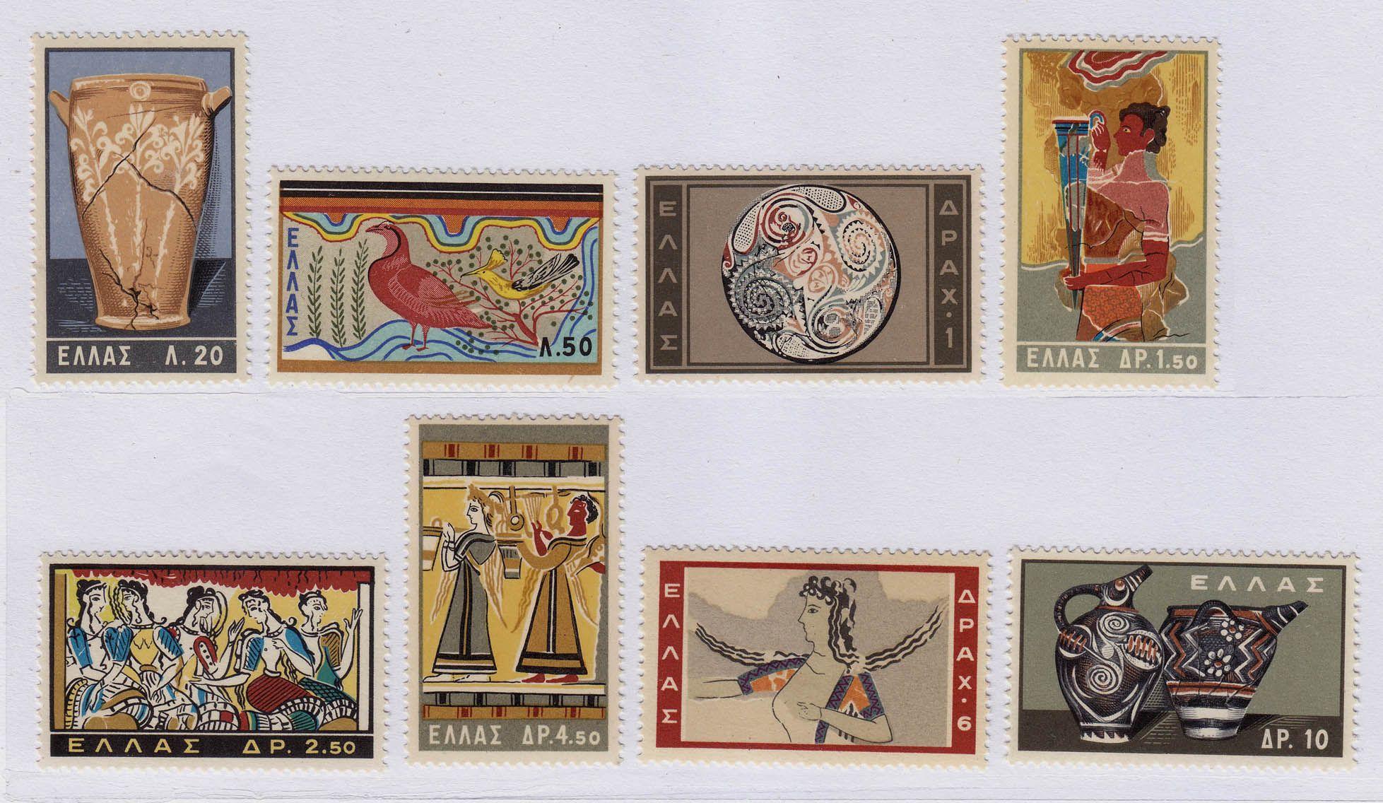 古代陶器绘画等