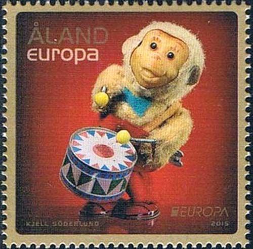 奥兰群岛2016生肖猴年邮票1枚全 (大图展示)