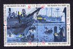 美国邮票 1973年独立战争200年.波士顿倾茶事件 方连新 雕刻版