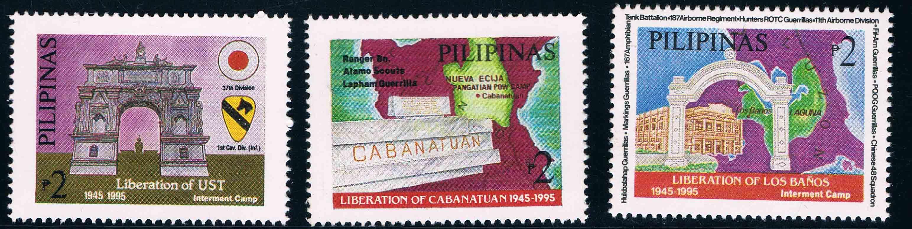 菲律宾1995二战菲律宾战场战役50周年地图(大图展示)