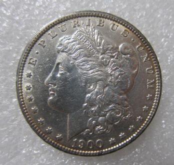 1900年摩根1元大银币 中邮网[集邮/钱币/邮票/金银币 ...