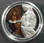 2011年白俄罗斯发行 肚皮舞 彩色精制纪念银币