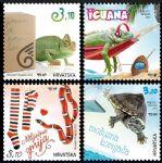 克罗地亚邮票:2017 宠物系列(六)-两栖/爬行动物
