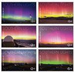 新西兰邮票:2017 南半球极光