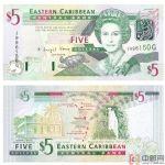 格林纳达纸币5元