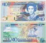 格林纳达纸币10元