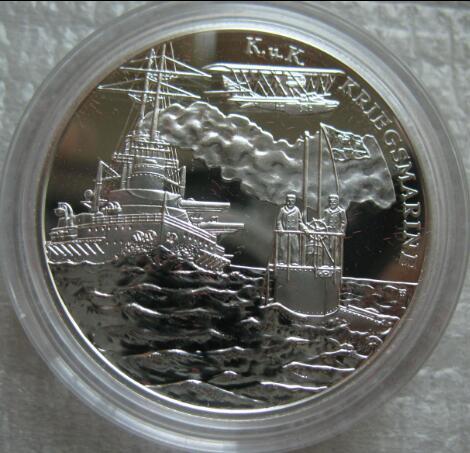 2006年奥地利20欧元航海系列精制纪念银币-奥地利海军图片