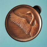 隐形的翅膀纪念铜章