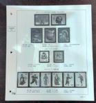 RC180 菲勒高档2001年编年邮票定位页(12页)