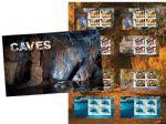 代购 澳大利亚异质岩石粉末邮票2017年世界自然遗产岩石溶洞限量版邮折