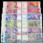 WGZB2864 柬埔寨6枚全(100-10000瑞尔)新版纸币(CAMBODIA 亚洲)