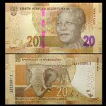 WGZB2861 2015年南非20兰特纸币(South Africa非洲)