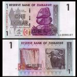 WGZB2852-E 2007年津巴布韦1津元(Zimbabwe 非洲)