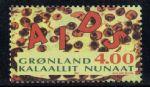 OZ35091993年格陵兰爱滋病的研究邮票(1全)适用:爱滋病
