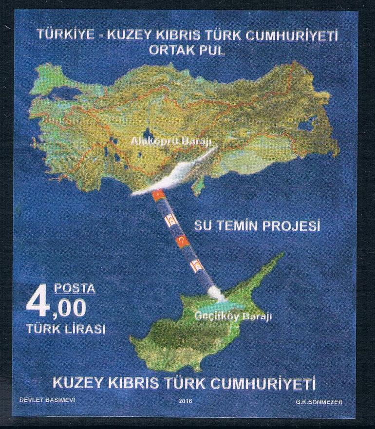 土属塞浦路斯2016水资源供应体系地图国旗m全新(大图展示)