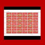 个性化 伟大历程 个性化服务专用邮票 2018年伟大历程 大版 完整版
