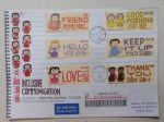 HKF546香港2018共融沟通邮票首日实寄封