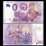 WGZB2867-G 2017年欧盟0元纸币城市系列Festyland纪念钞