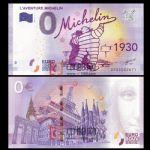 WGZB2867-O 2017年欧盟0元纸币城市系列1930米其林纪念钞