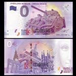 WGZB2867-I 2016年欧盟0元纸币奥马哈海滩上的士兵和坦克纪念钞