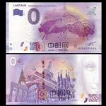 WGZB2867-L 2017年欧盟0元纸币城市系列拉斯科洞窟壁画纪念钞