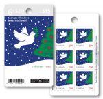 BMZ13462016年加拿大邮票 圣诞节 小本票1本含6票