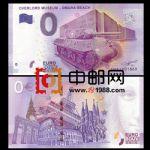 WGZB2867-T 2017年欧盟0元纸币城市系列坦克纪念钞