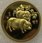 JNZ-285 1983年生肖猪纪念章(中国造币公司)