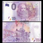 WGZB2867-V 2017年欧盟0元系列达芬奇故居克吕斯城堡纪念钞