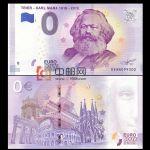 WGZB2867-W 2018年欧盟0元系列德国卡尔马克思纪念钞