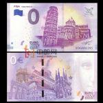 WGZB2867-1 2018年欧盟0元城市系列比萨斜塔纪念钞