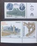 OZ4213法国邮票 2008年纪念查尔斯戴高乐 2全新