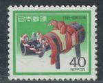 YZ2202日本1985年�i年�]票 1全