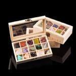 晶石盛典15种天然水晶矿物晶体标本儿童科普地质研究奇石(木盒装)