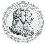 奥地利2018年特蕾西娅女王(4)节俭与改革精制银币(大奶妈银币4)