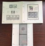 RC186-D 菲勒高档2018邮票、小版、小本全套定位页(40页)