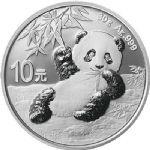 常规:2020年熊猫30克圆形银质快播电影网币