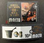 WG00012 马耳他邮票1978教堂圣经故事2枚新
