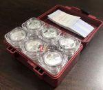 2021年3元贺岁银质纪念币(60枚一盒)